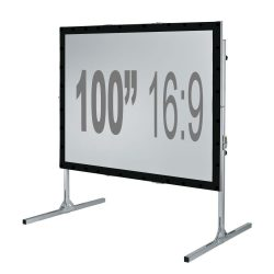 Fast Fold Projection Screen – 100″ 16:9