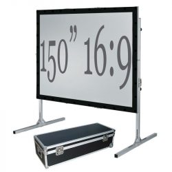 Fast Fold Projection Screen – 150″ 16:9