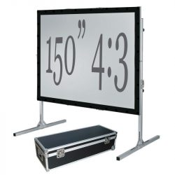 Fast Fold Projection Screen – 150″ 4:3